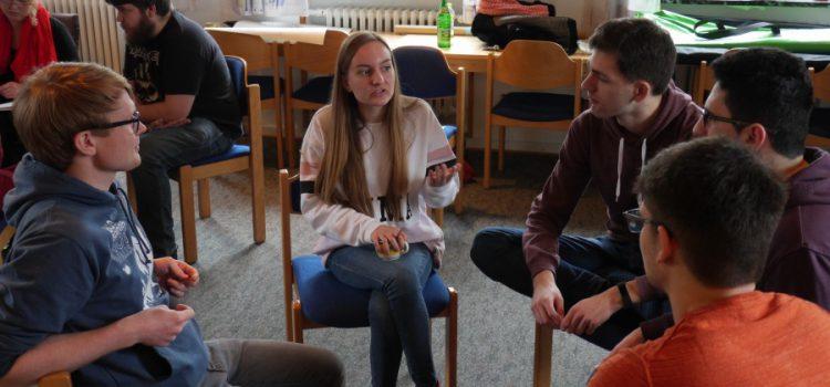 Basisschulung des Peernetzwerks JETZT vom 22.-24. Juni 2018 in Halle (Saale)